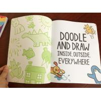 China Attractive Boys Colouring Book Printing For Kindergarten Reading Softcover wholesale