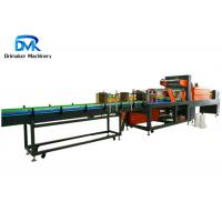China Auto Heat Shrink Tunnel Packaging Machine For Beverage Flat Bottle wholesale