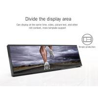 Quality lcd long display 4k commercial buildings digital signage restaurant mall digital for sale