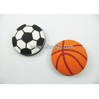 China Round shape basketball football shape personalized mini portable bottle opener custom as for promotional gifts on sale