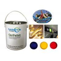 China Acid Resistance Advertising Paint , White Stainless Steel Coating Paint wholesale