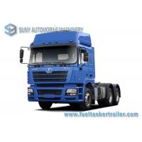 China 6x4 Shacman F3000 Tractor Head Truck 11.596 L 280kw / 380hp Engine Power wholesale