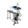 China Mini CO2 Laser Marking Machine / Paper Box Flying Laser Marke 1064nm wholesale