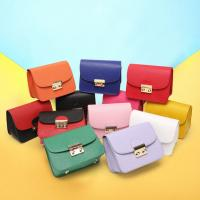 China 2017 new first layer genuine leather shoulder bag Messenger small square bag lady mini chain with lock bag wholesale