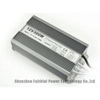 Quality 300W Waterproof IP67 LED Light Power Supply DC12V 25A Fins Radiator LED Driver for sale