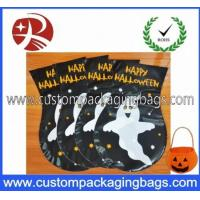 China Custom Made HDEP Plastic Treat Bags Colored For Halloween Candy Treat wholesale