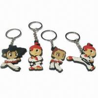 China 3D Keychain, Made of PVC  wholesale