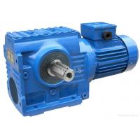 China High Torque Industrial Helical Worm Gear Motor SF57 / Shaft Mounted Gear Reducer wholesale