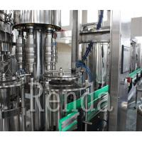 China Coca Cola Carbonated Drink Filling Machine  Washing Filling Capping Machine High Speed Beverage Filling Machine wholesale