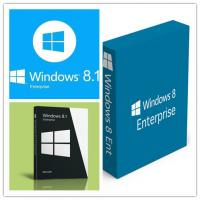 China Genuine Full Version Windows 8.1 Enterprise Digital Download English Language wholesale