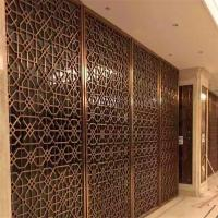 Buy cheap construction building stainless steel dubai room divider screen metal work from wholesalers