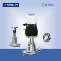 China DN10 - DN100 Pneumatic Globe Control Valve With Valve Controller / Positioner wholesale
