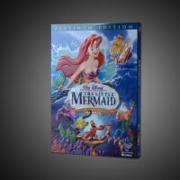 China wholesale the little mermaid disney dvd movies with slip cover case,accept paypal on sale