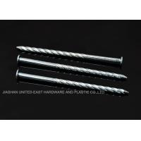 "China High Grip Galvanized Twisted Nails  2-1/2"" X BWG 10 Low Carbon Steel Rust Proof wholesale"