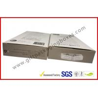 China 300gsm Paper Box Card Board Packaging With Clear Window And Blister on sale
