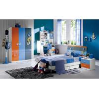 China Modern High Gloss Painting Kids Bedroom Sets / Childrens Bedroom Furniture wholesale