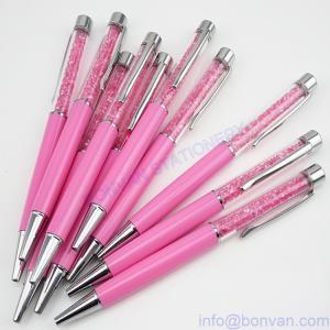 China Swaroski crystal pen,Swaroski ball pen,gift Swaroski ball point pen with diamond wholesale