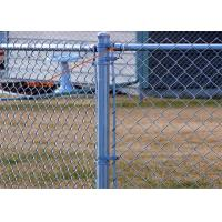 """China Smooth 1-3/8"""" Chain Link Fence Rail End / Chain Link Fence Fittings Easy Install wholesale"""