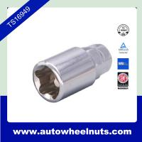 China Automobile Wheel Lock Nut And Bolt Kit with 4800 key adapter Top Hex 14mm / Hex 17mm wholesale