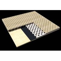 China Office Building Perforated Wood Acoustic Panels / Sound Absorption Board wholesale