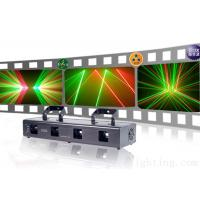 China Four head red and green laser light KTV Disco stage light wholesale