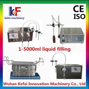 liquid soap bottle filling machine