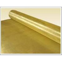 China Brass wire and wire mesh on sale