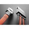 China Flexible Nylon Expandable Braided Sleeving , Nylon Braided Cable Wrap wholesale