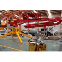 China 13m 15m 17m 18m Mini Mobile Trailer Spider Concrete Placing Boom Placer on Sale wholesale