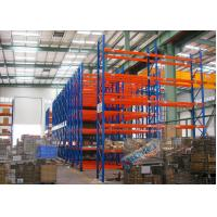 China Blue Red Mobile Storage Racks Q235B Custom Pallet Electric Mobile Shelving wholesale