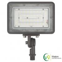China 30 Watt Slim LED Flood Light 3500 Lumens 4000k UL DLC AC 120-277V Long Working Life wholesale