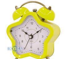 China Star Shape Twin Bell Alarm Clock wholesale