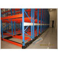 China Rail Guided Mobile Storage Racks Warehouse Racking Shelves For Optimizing Space wholesale