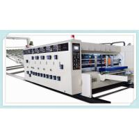 Quality flexo printing slotting die cutting machine /water ink printer slotter die cutter machine for sale
