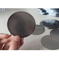 Portable Wire Mesh Coffee Filter 13 Micron Strainer For Business / Travel