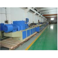 China 2012 Newly Type Conical Twin Screw PVC Window Profile Extrusion Line wholesale