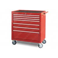 China Prevent Accidental 42 Inch Tool Cabinet High Strength Steel Lockable 7 Drawer wholesale