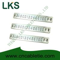 China Embossed Stainless steel tags wholesale