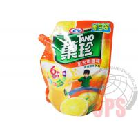 China PET / PE Liquid Spout BagsPlastic Food Package For Juice , top open automatic packing bag wholesale