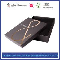 China Foil Stamping Christmas Gift Boxes With Lids Recyclable Paper Set Up Boxes wholesale