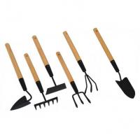 China garden rake with wooden handle wholesale