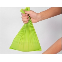 China Compostable Biodegradable Disposable Bags , 80X90CM Large Green Garbage Bags wholesale