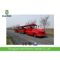 China Regent Style Mini Electric Trackless Train With 42 Seats DC Motor Fashion Design wholesale