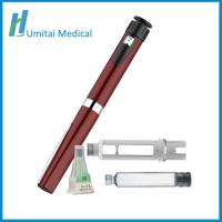 China Refillable Diabetes Insulin Pen Injector With Travel Case For Diabetes Patients on sale
