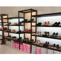 China Shopping Mall Shoe Display Equipment / Large Shoe Shelf Customized Modelling wholesale