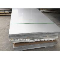 China Various Finish Cold Rolled Stainless Steel Plate Thickness 0.1mm - 6mm Size 4 X 8 on sale