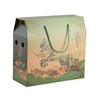 China Tall Small Cardboard Boxes Food Industry Lightweight Reusable With Handle Rope wholesale