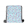 China Custom Printed Drawstring Bag Backpack , Ladies Drawstring Bag With Oem Service wholesale