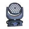 China Dj Lights LED Wash Moving Head , 36x10w Led Moving Head Light 50000 Hours Lifespan wholesale