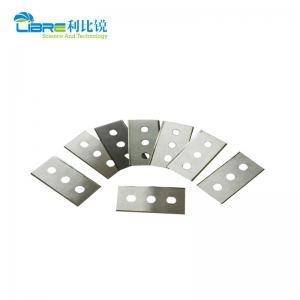 China Three Holes 43×22×0.4mm Film Slitting Blades wholesale